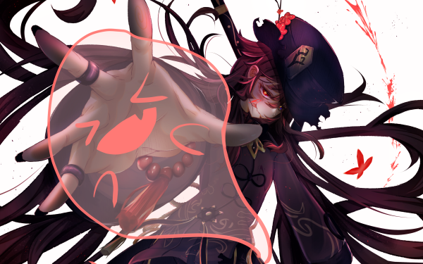 Video Game Genshin Impact Hu Tao HD Wallpaper | Background Image