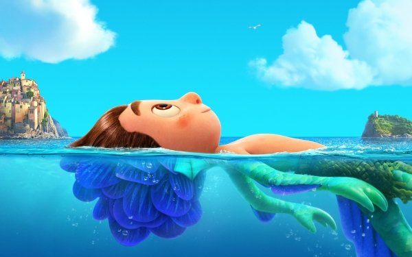 Movie Luca Luca Paguro Sea Monster HD Wallpaper | Background Image