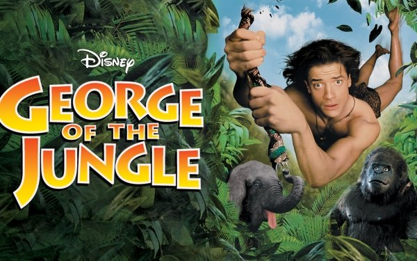 Movie George of the Jungle Brendan Fraser HD Wallpaper | Background Image