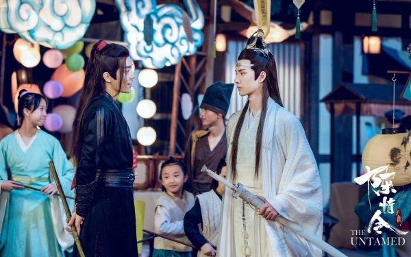 TV Show The Untamed Lan Wangji Lan Zhan Wang Yibo Wei Ying Wei Wuxian Xiao Zhan HD Wallpaper   Background Image