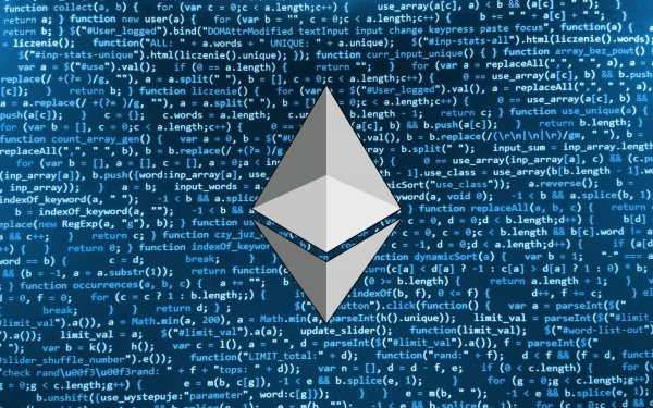 Technology Ethereum Cryptocurrency Code HD Wallpaper | Background Image