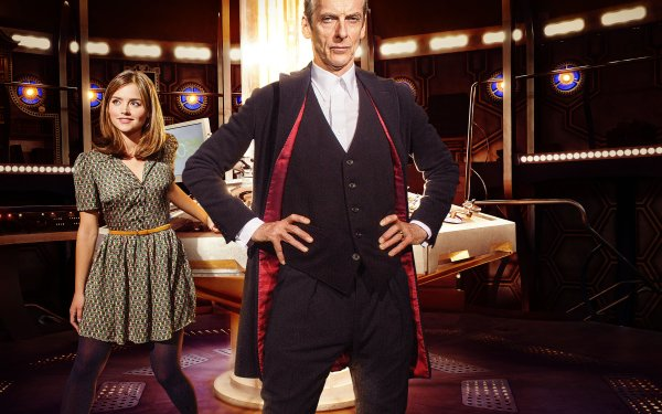 TV Show Doctor Who Peter Capaldi Jenna Coleman HD Wallpaper | Background Image