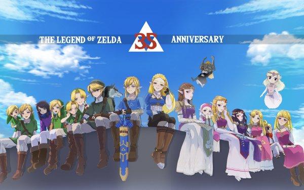 Video Game The Legend Of Zelda Zelda Link Midna Ravio Tetra Princess Hilda HD Wallpaper | Background Image