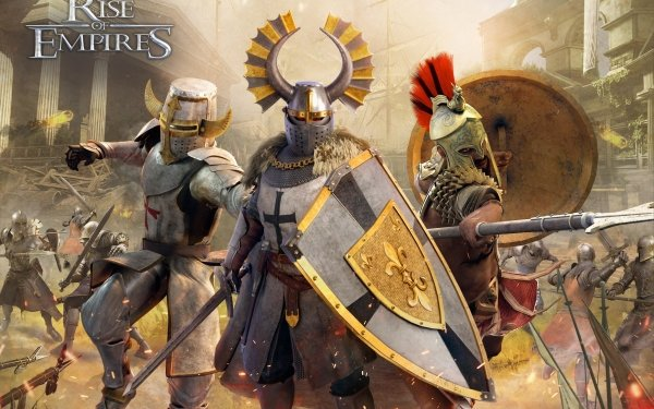 Video Game Rise of Empires: Ice and Fire HD Wallpaper   Background Image
