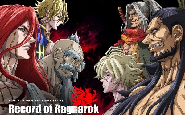 Anime Record of Ragnarok Adam Sasaki Kojirou Lu Bu Poseidon Zeus Thor HD Wallpaper | Background Image
