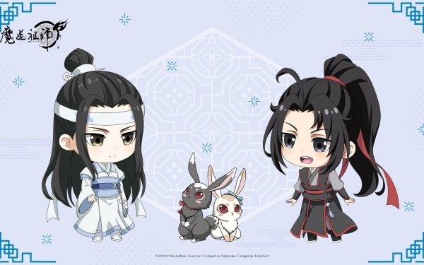 Anime Mo Dao Zu Shi Lan Zhan Lan Wangji Wei Ying Wei Wuxian HD Wallpaper   Background Image