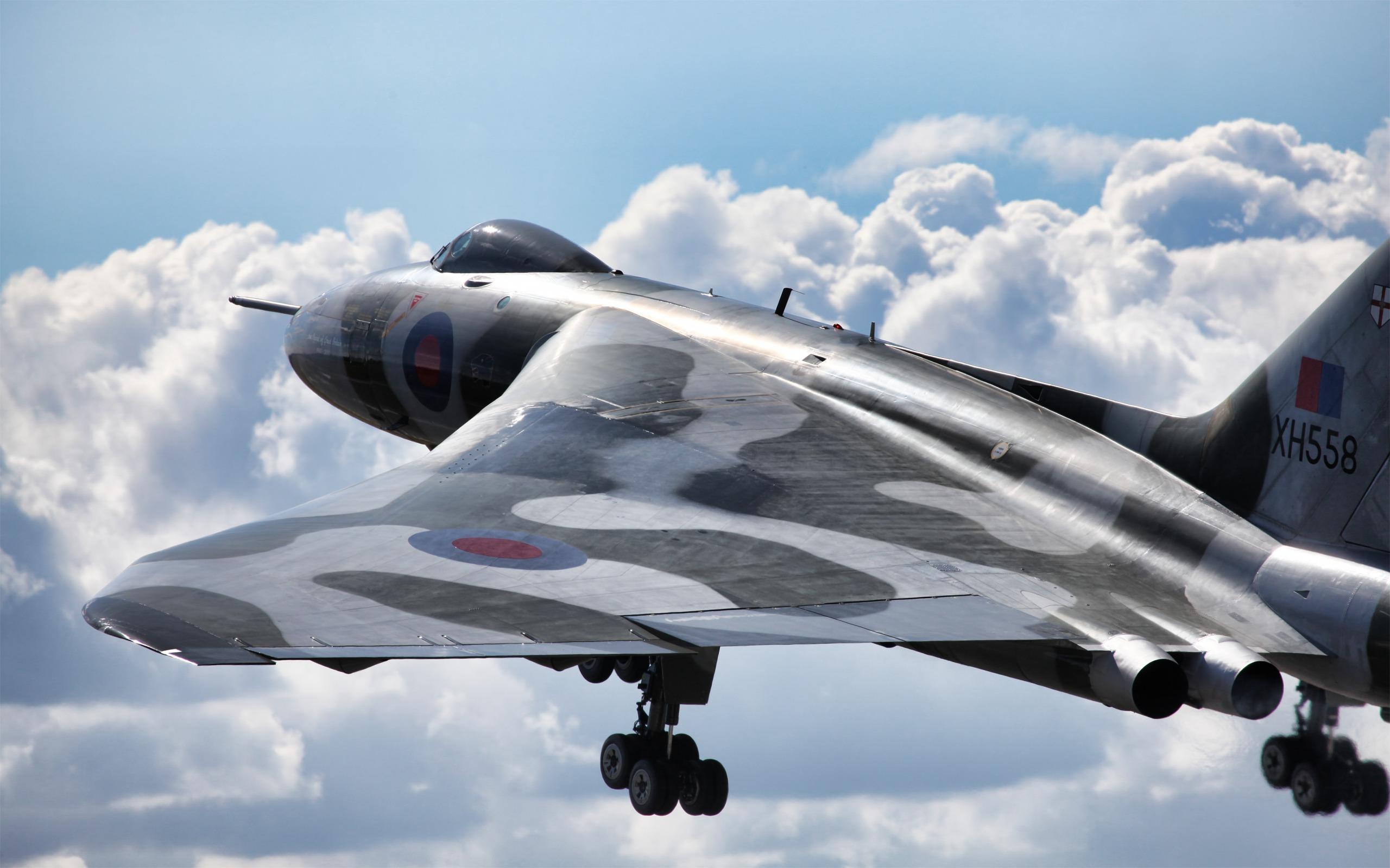 Обои Vulcan, Самолёт, bomber. Авиация foto 14