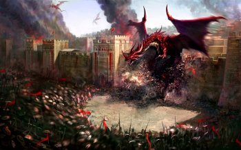 Fantasy - Dragon Wallpapers and Backgrounds ID : 114250