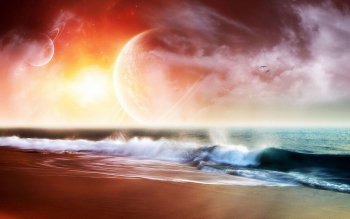 Sciencefiction - Landschap Wallpapers and Backgrounds ID : 114870