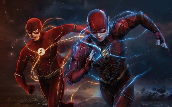 TV Show Crisis On Infinite Earths DC Comics Barry Allen Grant Gustin Ezra Miller Flash HD Wallpaper | Background Image