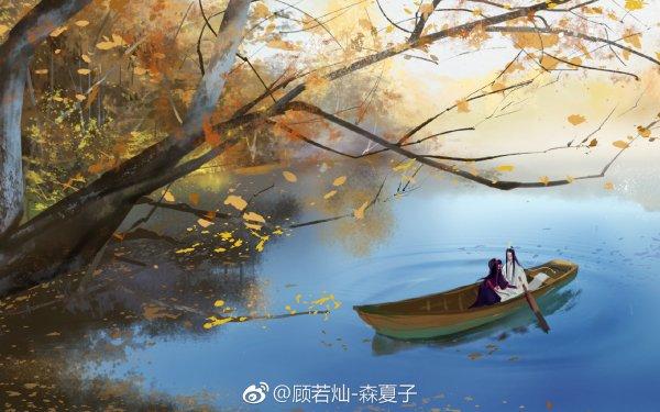 Anime Mo Dao Zu Shi Wei Ying Wei Wuxian Lan Wangji Lan Zhan HD Wallpaper   Background Image