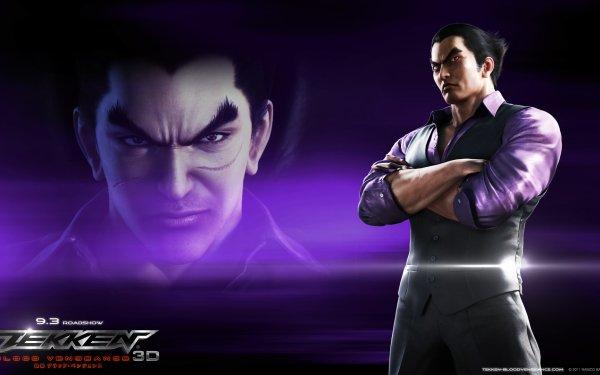 Anime Tekken: Blood Vengeance Tekken Kazuya Mishima HD Wallpaper | Background Image