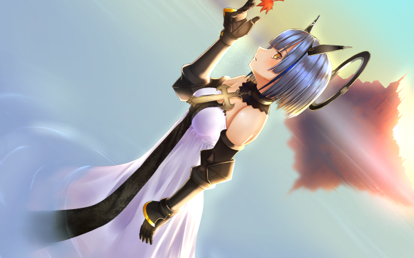 Anime Azur Lane Gascogne HD Wallpaper | Background Image