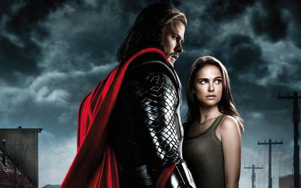 Movie Thor Chris Hemsworth Natalie Portman Jane Foster HD Wallpaper   Background Image
