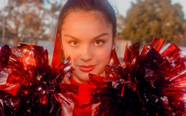 Kändis Olivia Rodrigo American Actress Singer Brunette Lipstick HD Wallpaper | Background Image