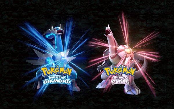 Videojuego Pokémon Brilliant Diamond and Shining Pearl Pokémon Dialga Palkia Pokémon Brilliant Diamond Pokémon Shining Pearl Fondo de pantalla HD | Fondo de Escritorio