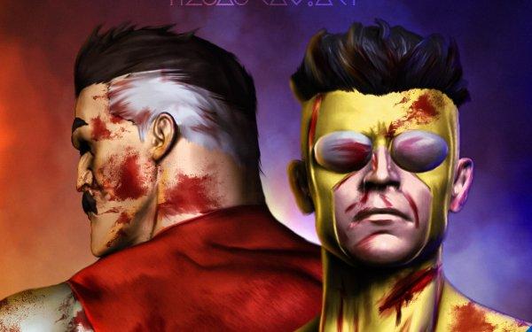 TV Show Invincible Omni-Man Mark Grayson HD Wallpaper | Background Image