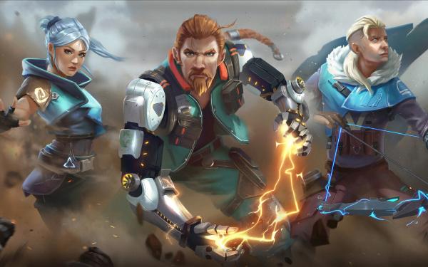 Video Game Valorant Breach Jett Sova HD Wallpaper   Background Image
