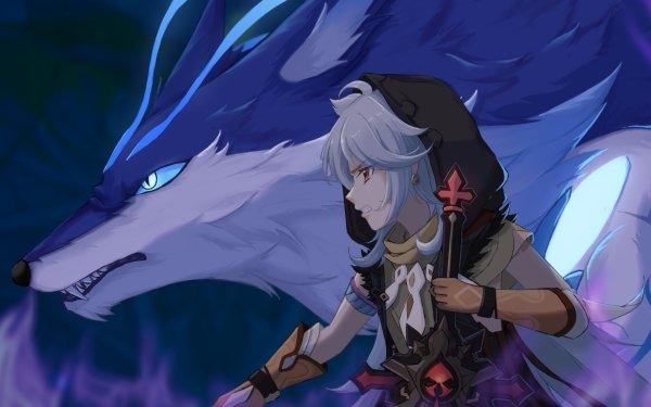 Video Game Genshin Impact Razor Andrius HD Wallpaper | Background Image