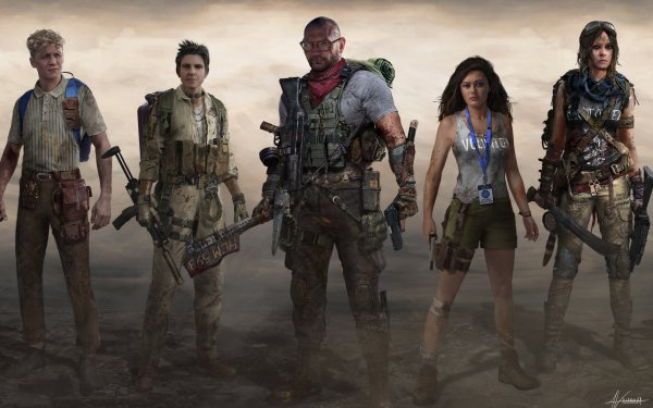 Movie Army of the Dead Kate Ward Scott Ward Ludwig Dieter Marianne Peters Lilly HD Wallpaper | Background Image