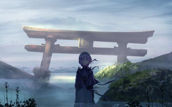 Anime Virtual Youtuber Kaf Torii HD Wallpaper | Background Image