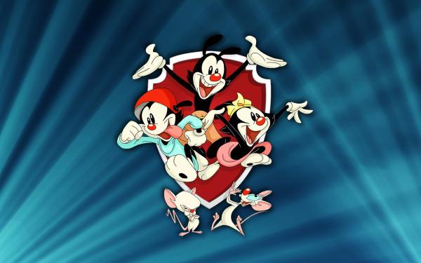 TV Show Animaniacs (2020) Wakko Warner Dot Warner Yakko Warner Brain Pinky HD Wallpaper   Background Image