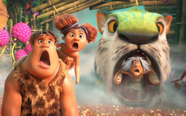 Movie The Croods: A New Age Thunk Sandy Gran HD Wallpaper   Background Image