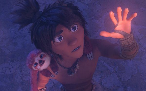 Movie The Croods: A New Age Guy HD Wallpaper   Background Image