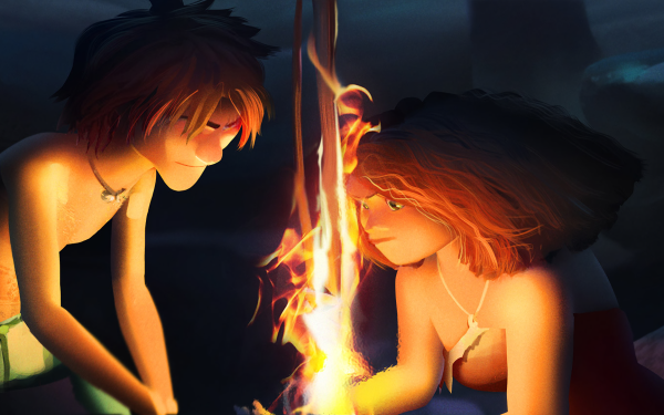 Movie The Croods: A New Age Eep Guy HD Wallpaper   Background Image