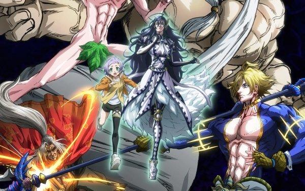 Anime Record of Ragnarok Zeus Brunhilde Poseidon Kojiro Sasaki Adam Göll HD Wallpaper | Background Image