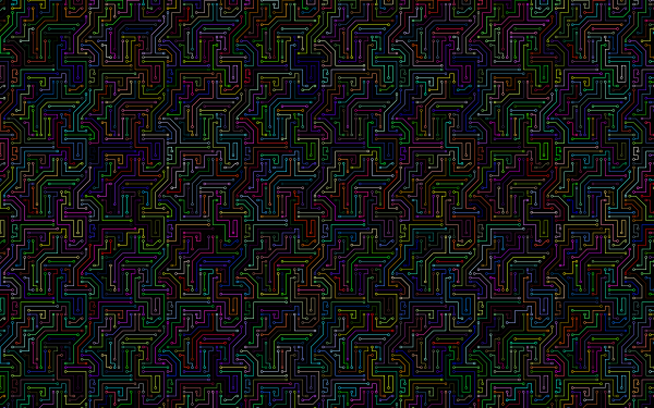 Technology Circuit Colorful HD Wallpaper | Background Image