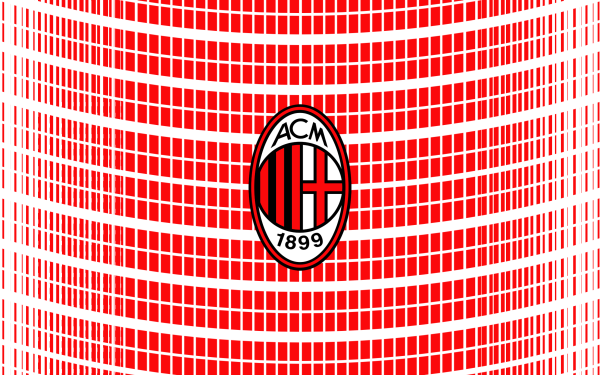 Sports A.C. Milan Soccer Club Logo HD Wallpaper   Background Image
