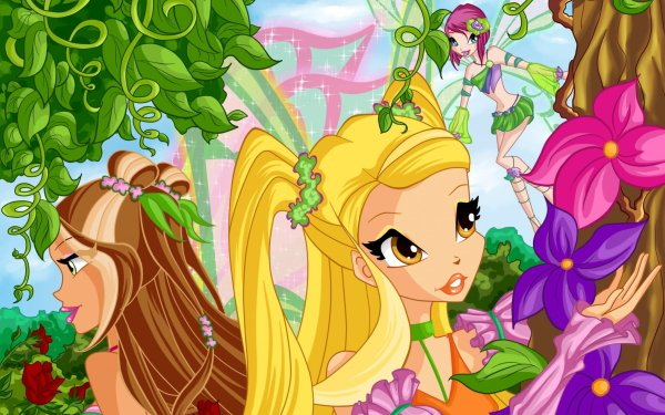 TV Show Winx Club Stella Flora Tecna Fairy HD Wallpaper   Background Image