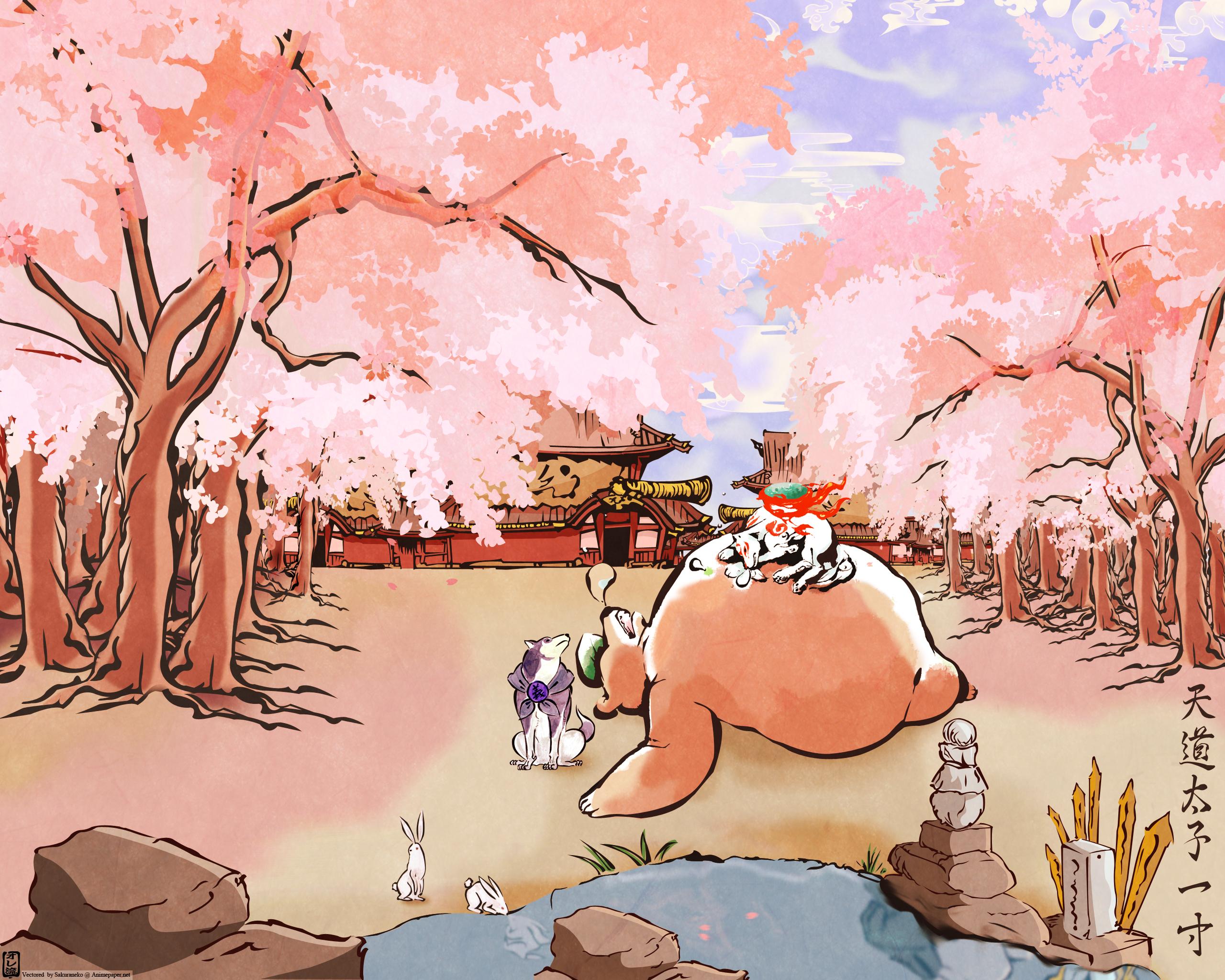 Anime - Okami Wallpaper