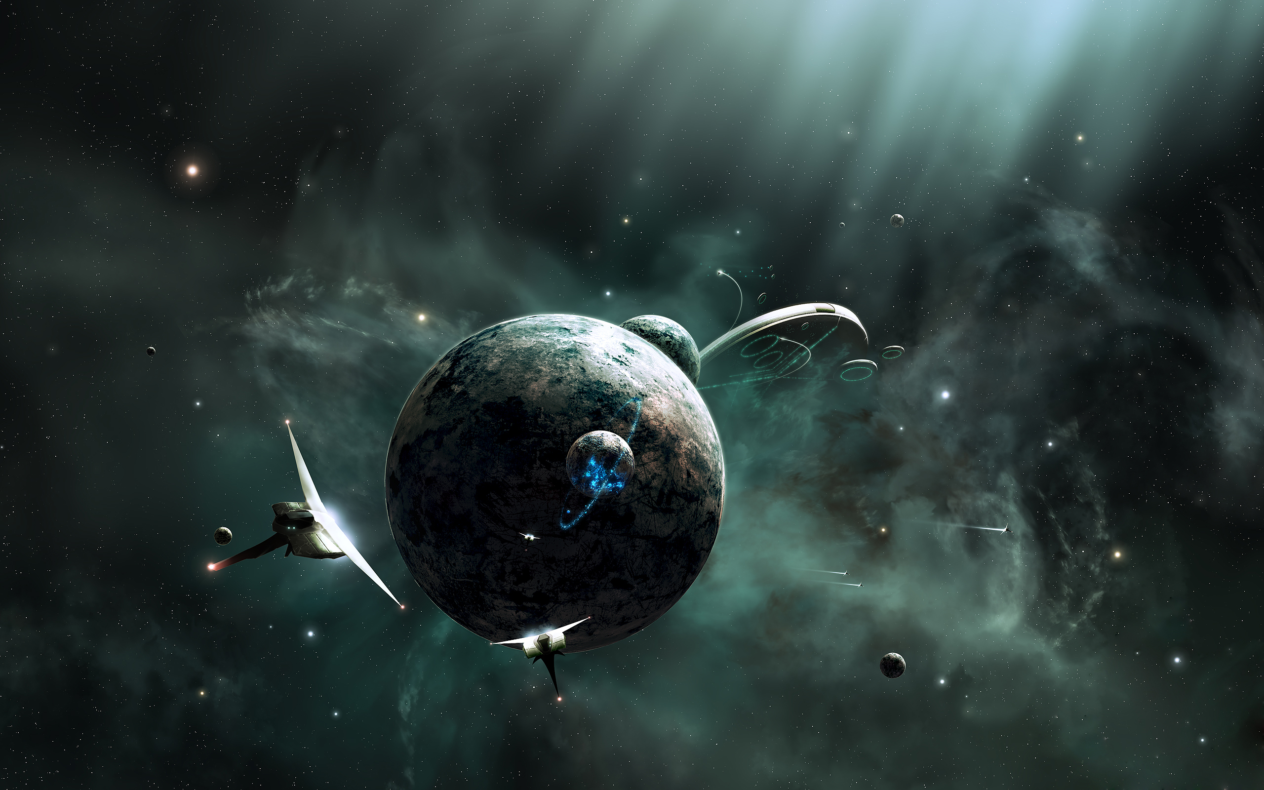 spaceship hd wallpaper | background image | 2560x1600 | id:116380