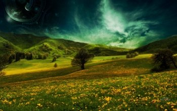 Sciencefiction - Landschap Wallpapers and Backgrounds ID : 116790