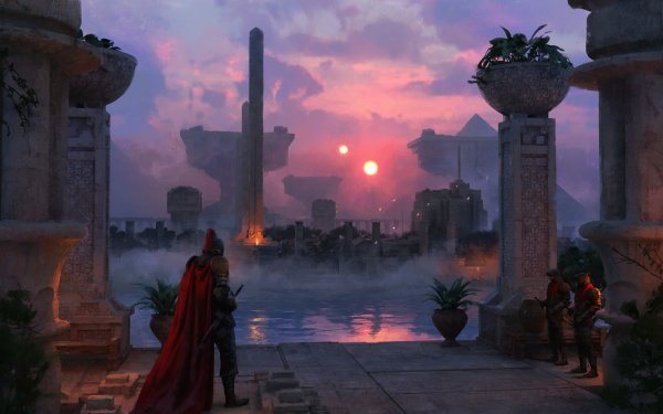Fantasy Landscape HD Wallpaper   Background Image