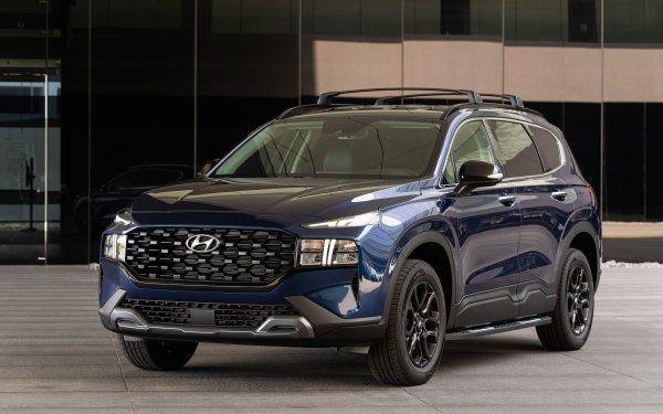 Vehicles Hyundai Santa Fe Hyundai SUV HD Wallpaper | Background Image