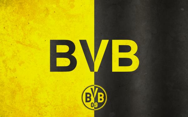 Sports Borussia Dortmund Soccer Club Logo Emblem HD Wallpaper | Background Image