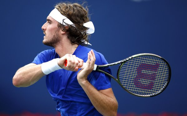 Sports Stefanos Tsitsipas Tennis Greek HD Wallpaper | Background Image
