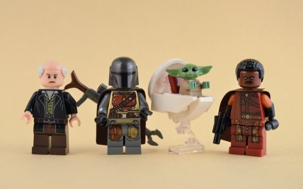 Products Lego The Client The Mandalorian Grogu Greef Karga HD Wallpaper   Background Image