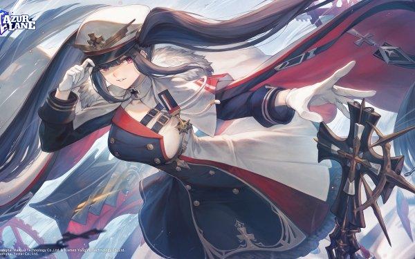 Anime Azur Lane Peter Strasser HD Wallpaper | Background Image
