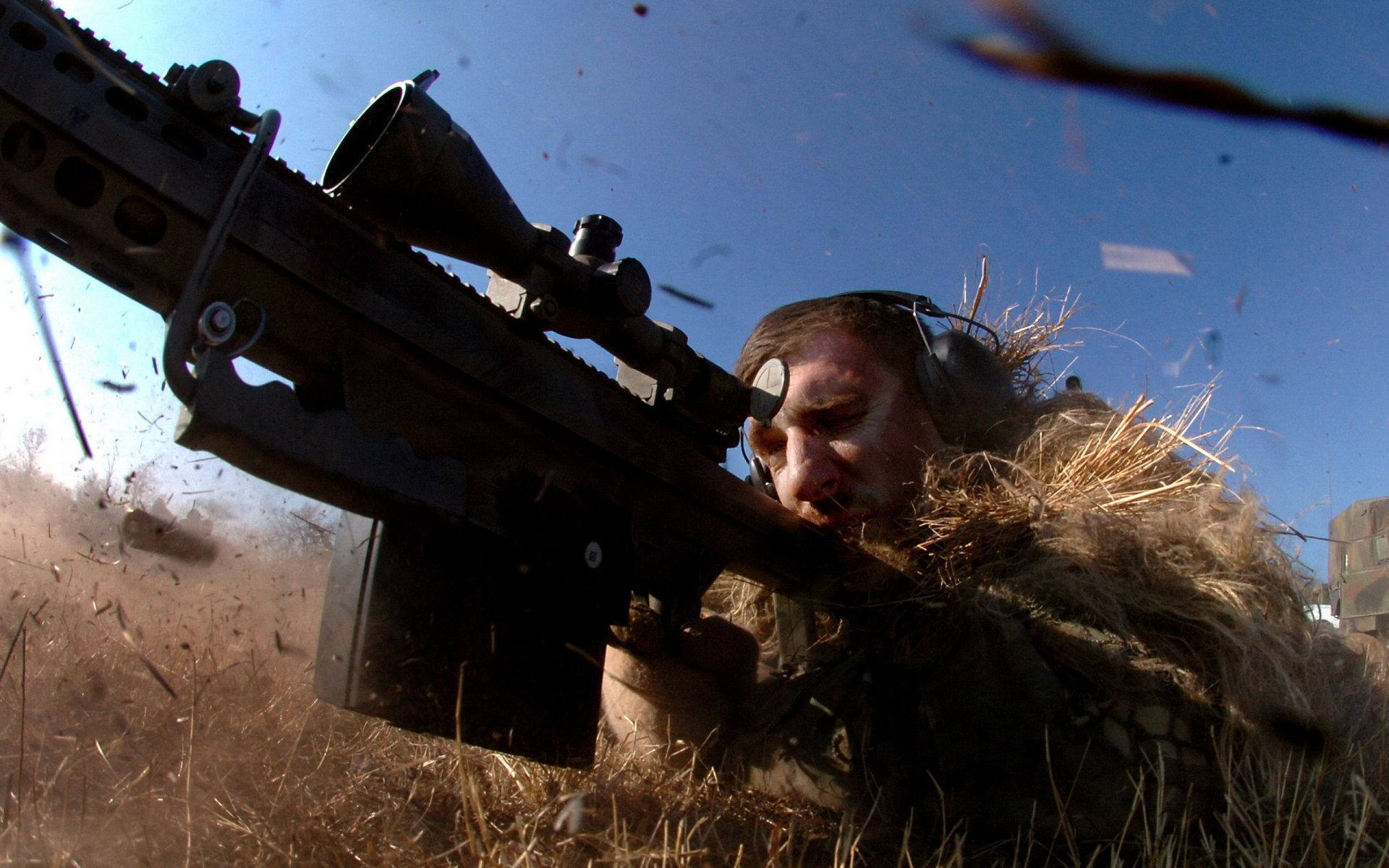 Military - Sniper  Wallpaper
