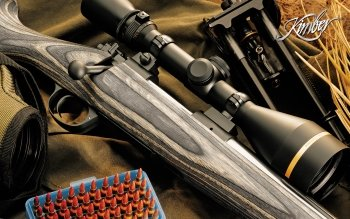 Weapons - Kimber Rifle Wallpapers and Backgrounds ID : 117422