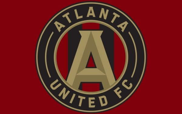 Sports Atlanta United FC Soccer Club MLS Logo HD Wallpaper   Background Image