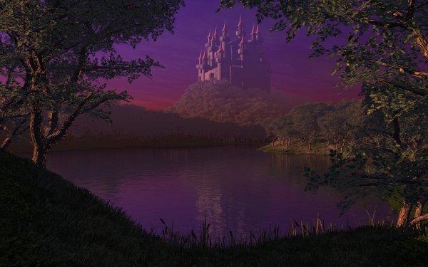 dans fond ecran chateau thumbbig-117062