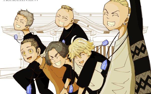 Anime Tokyo Revengers Kazutora Hanemiya Keisuke Baji Mikey Manjiro Sano Ken Ryuguji HD Wallpaper | Background Image