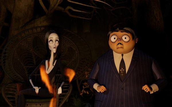 Movie The Addams Family 2 Gomez Addams Morticia Addams HD Wallpaper | Background Image