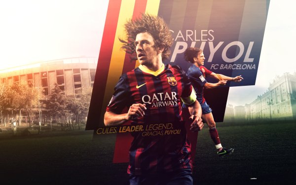 Sports Carles Puyol Soccer Player FC Barcelona HD Wallpaper | Background Image