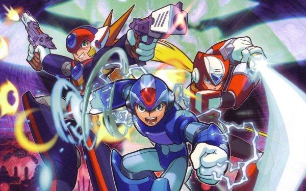 Video Game Mega Man X8 Mega Man Mega Man X Axl Zero HD Wallpaper | Background Image